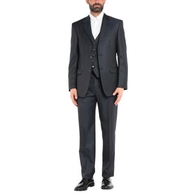 RENATO BALESTRA スーツ ダークブルー 48 レーヨン 52% / バージンウール 48% スーツ