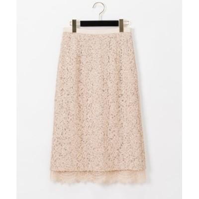 スパンコールタイトスカート