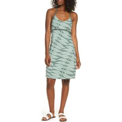 パタゴニア PATAGONIA レディース ワンピース ワンピース・ドレス Sundown Sally A-Line Jersey Dress Light Kale Green
