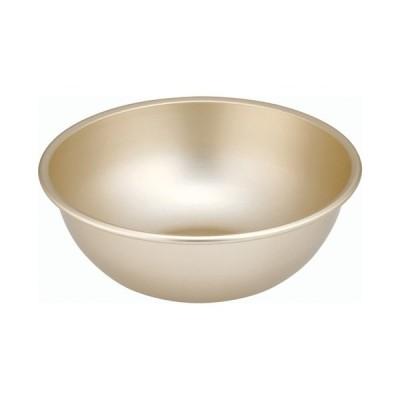ボウル 料理道具 / ゴールド アルマイトボール 26cm 寸法: 外径:275 x 深さ:99mm 容量:4L