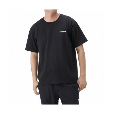 (MAC HOUSE(men)/マックハウス メンズ)EVANGELION エヴァンゲリオン ボックスバックシルエット半袖Tシャツ 032105MH/メンズ ブラック