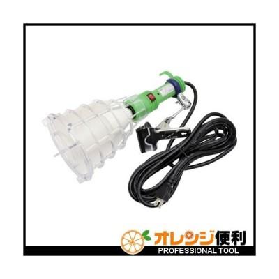 日動工業 日動 ハンドランプ 脱落防止LEDクリップランプ16W 100V 2芯 5m 脱落防止ガードタイプ HCL-GL165 【835-7694】