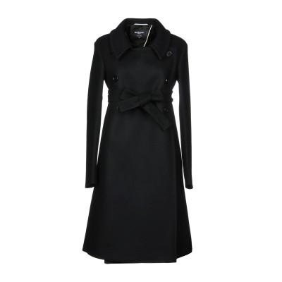 ロシャス ROCHAS コート ブラック 44 バージンウール 75% / ナイロン 20% / カシミヤ 5% コート