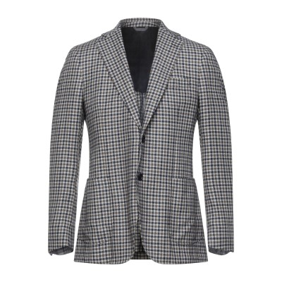 TOMBOLINI テーラードジャケット ダークブルー 50 バージンウール 100% テーラードジャケット