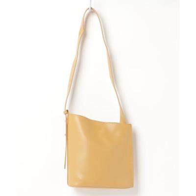 ZealMarket/SFW / ベーシックデザイン コンパクト レザーのような質感 ショルダーバッグ WOMEN バッグ > ショルダーバッグ