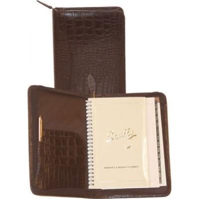 スカーリー Scully メンズ 雑貨 Weekly Planner Croco 5045Z Dark Brown