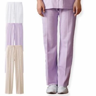 [送料無料キャンペーン開催] ナースリー 看護師 医療 白衣 ナースウェア 女性 コードレーン ストレートパンツ