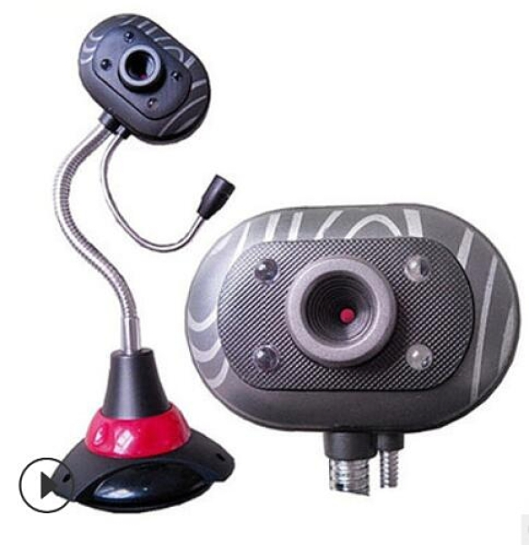 (台灣現貨)攝像頭視訊上課USB視訊 直立式電腦鏡頭 免驅動隨插即用帶麥克風