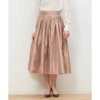 スカート ギンガムチェック スカート