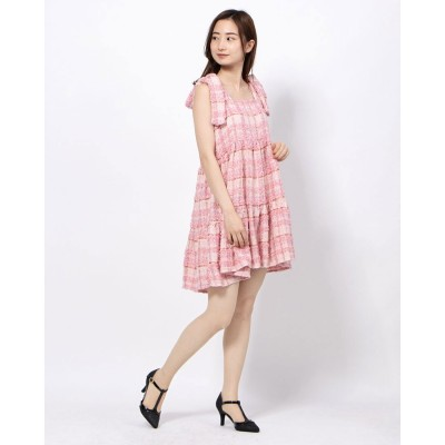 シスタージェーン sister jane Prom Tweed Mini Dress (PINK)