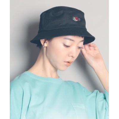 MAISON mou / 【FRUIT OF THE LOOM/フルーツオブザルーム】FTL EMB BUCKET HAT/刺繍バケットハット WOMEN 帽子 > ハット