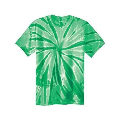 Joe's USA Kids Short Sleeve Tie-Dye T-Shirts,S-Kelly