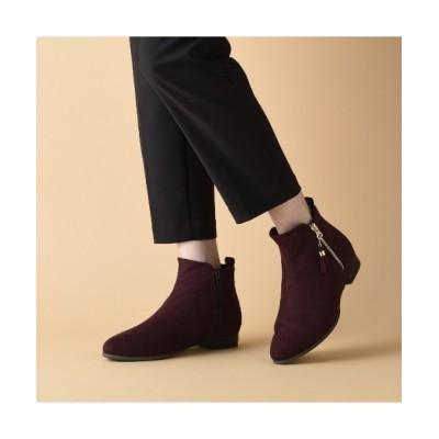 velikoko ラクチンきれいシューズ / 〇【19.5~27.0cm】すっきりタッセルブーツ(2cmヒール) WOMEN シューズ > ブーツ