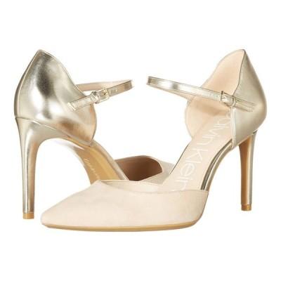 カルバンクライン Calvin Klein レディース パンプス シューズ・靴 Roya Champagne Multi