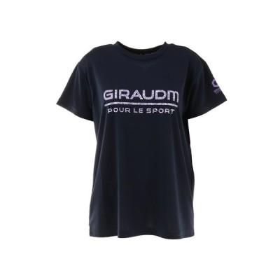 ジローム(GIRAUDM) Tシャツ レディース 半袖 ドライ 吸汗速乾 UVカット メッシュシャツ 864GM1CD6674 NVY (レディース)