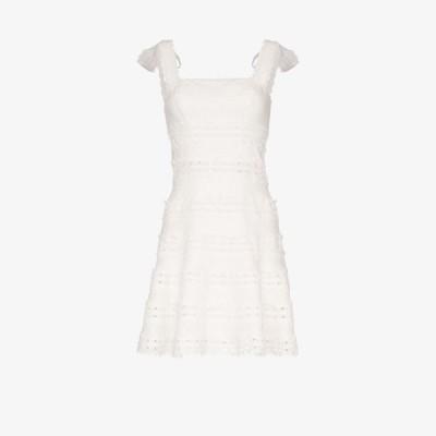 ジマーマン Zimmermann レディース ワンピース ミニ丈 ワンピース・ドレス kirra lace linen mini dress white