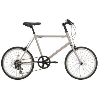 RIPSTOP RSM-01 グレー (50556) trot [ミニベロ(20インチ・7段変速)] 折りたたみ自転車・ミニベロ