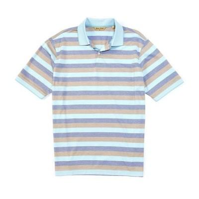 ランドツリーアンドヨーク メンズ ポロシャツ  Light Aqua