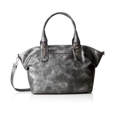 Rieker H1389, Women's Bag, Silver (Altsilber), 18x30x45 cm (B x H T) 並行輸入品