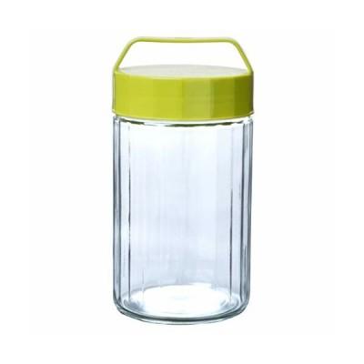 東洋佐々木ガラス 保存容器 オリーブグリーン 約2L なんでもポット 日本製 OK-900-OG-JAN