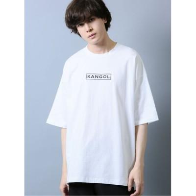 (semanticdesign/セマンティックデザイン)【WEB限定カラー有】カンゴール/KANGOL ふきだしプリント 半袖Tシャツ/メンズ ホワイト
