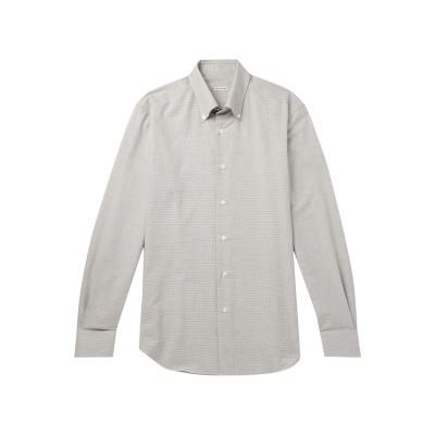 カルーゾ CARUSO シャツ グレー 45 コットン 100% シャツ