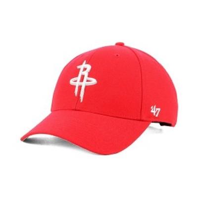 47ブランド メンズ 帽子 アクセサリー Houston Rockets Team Color MVP Cap Red