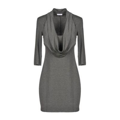 ANUG ミニワンピース&ドレス グレー 42 レーヨン 95% / ポリウレタン 5% ミニワンピース&ドレス