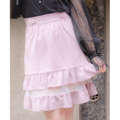 ROJITA / 2段フリルシアースカート WOMEN スカート > スカート