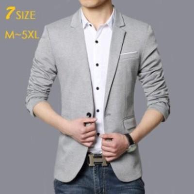ジャケット テーラード カジュアル フォーマル 春秋 jacket メンズ 紳士服 テーラードジャケット ブレザー 大きいサイズ