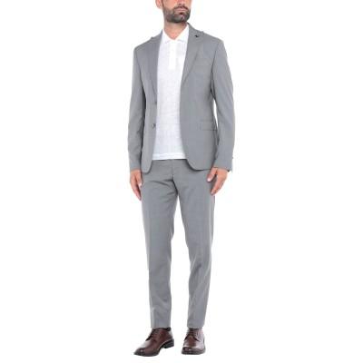DOMENICO TAGLIENTE スーツ 鉛色 48 バージンウール 100% スーツ