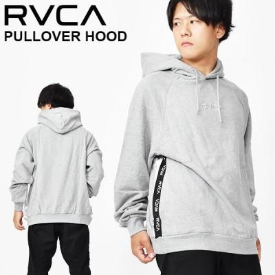 プルオーバーパーカー RVCA ルーカ メンズ RVCA HOODIE グレー 灰 ロゴ フーディー 2020秋冬新作 25%off