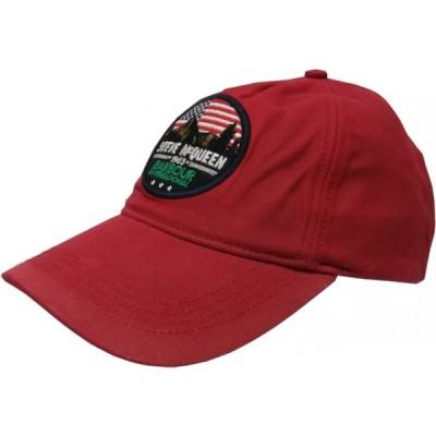 バブアー オイル加工 コットン キャップ 帽子 レッド系 メンズ Barbour 002