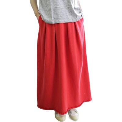 スカート FilMelange フィルメランジェ  SHARON シャロン 裏毛ロングスカート