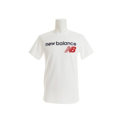 ニューバランス(new balance) アスレチックスメインロゴTシャツ AMT73581WT オンライン価格 (メンズ)