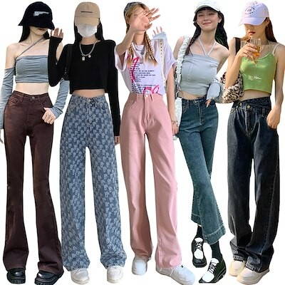 新作入荷 ファッション販売ズボン/ジーンズ/パンツ/ガウチョパンツ/品質デニムジーンズ/ワイドパ