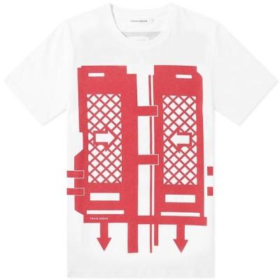 クレイググリーン Craig Green メンズ Tシャツ トップス Flatpack Tee Dark Red