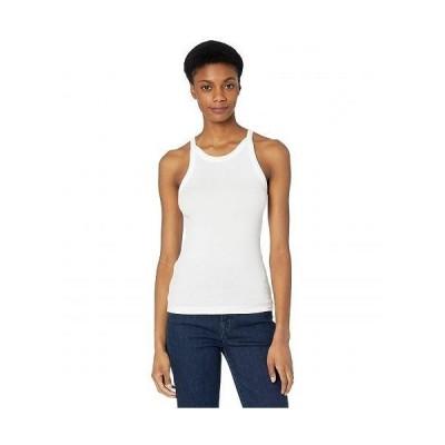 J Brand ジェイブランド レディース 女性用 ファッション トップス シャツ Claire Ribbed Tank - White