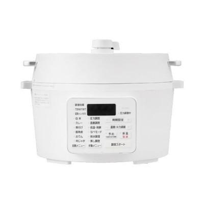 鍋・電気圧力鍋 アイリスオーヤマ 調理家電 PC-MA4-W [電気圧力鍋 4.0L ホワイト]