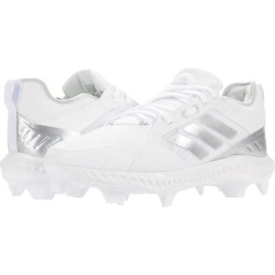 アディダス adidas レディース シューズ・靴 PureHustle TPU Footwear White/Silver Metallic/Grey One