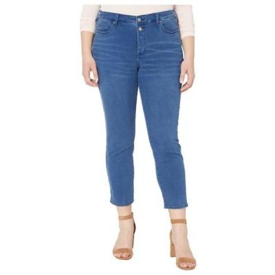 エヌ ワイ ディー ジェー レディース パンツ Plus Size Sheri Ankle Jeans with Mock Fly in Nevin