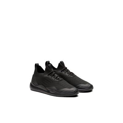 プラダ PRADA スニーカー シューズ 靴 ブラック ニット ファブリック