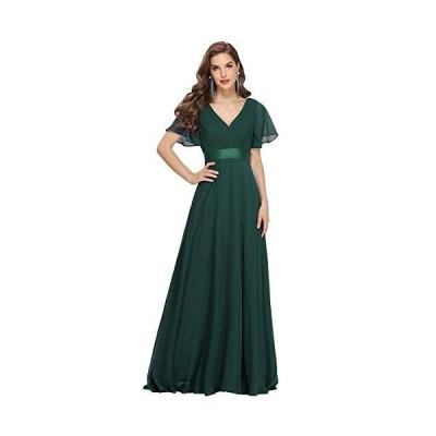 Ever-Pretty ロングドレス 演奏会 イブニングドレス シフォン ロングドレス long dress 結婚 パーティ ドレス パーティードレス