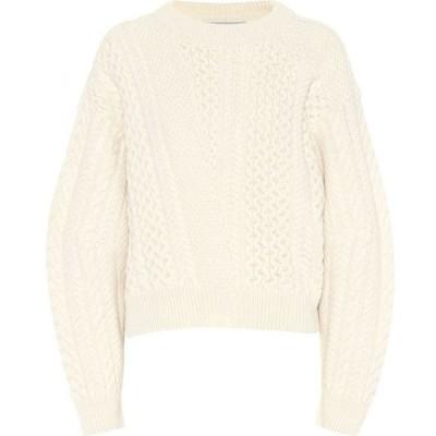 ステラ マッカートニー Stella McCartney レディース ニット・セーター トップス cable-knit sweater Candle