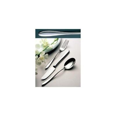 18-10 ジェンヌ No.5800 デザートナイフ(S・H)ノコ刃付(ディナー)【 カトラリー・箸 】