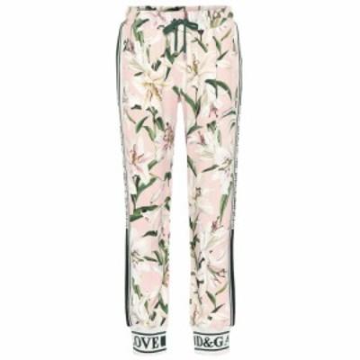 ドルチェandガッバーナ Dolce and Gabbana レディース スウェット・ジャージ ボトムス・パンツ Floral trackpants Gigli Fdo. Rosa