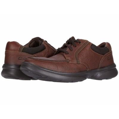 クラークス オックスフォード シューズ メンズ Bradley Vibe Tan Tumbled Leather