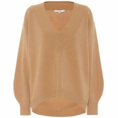 ティビ Tibi レディース ニット・セーター トップス Wool-blend sweater Light Burlywood