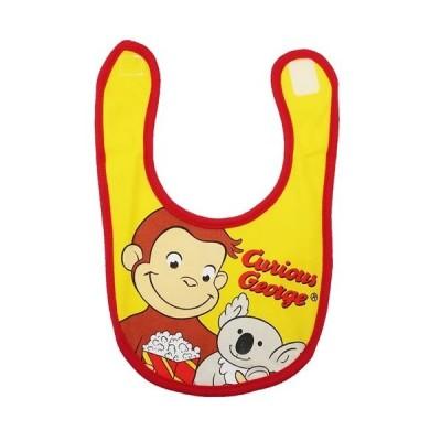 おさるのジョージ グッズ キャラ スタイ キャラクター ベビー ビブ ジョージとコアラ スモールプラネット 赤ちゃん用品