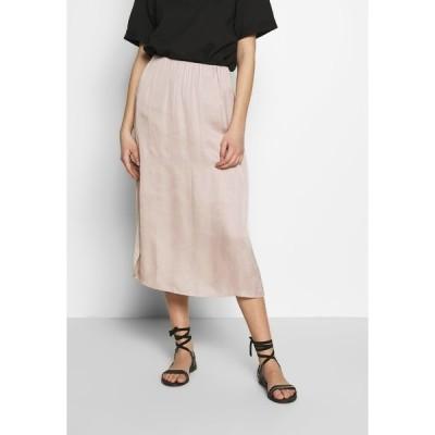 サントロペ スカート レディース ボトムス GITASZ SKIRT - A-line skirt - cloud gray